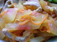 西瓜皮炒肉絲~ 康寶鮮味炒手「一步到味 鮮料理」