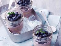 【創意玻璃罐沙拉】藍莓生起司慕斯