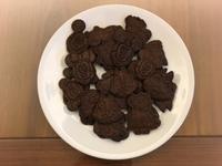 香濃巧克力壓模造型餅乾