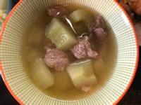 大黃瓜肉羹湯