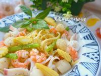蒜香海鮮義大利麵