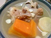 青紅蘿蔔南北杏蜜棗湯