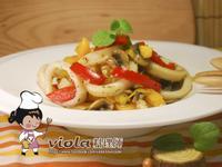 奶油海鮮蔬菜匯