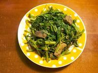 素炒沙茶空心菜