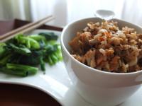 泡菜野菇炒飯佐鮮嫩芥蘭