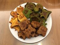 創意三色脆皮雞蛋糕-原味、抹茶、巧克力