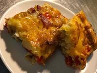 西班牙烘蛋(培根甜椒馬鈴薯)