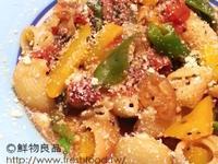 有機蕃茄蘑菇義大利貝殼麵(奶素)
