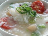 五色蔬菜海鮮粥