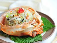 紅蟹肉炒飯 홍게볶음밥