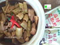 一鍋煮到底─竹篙筍滷肉