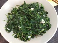蒜炒野莧菜