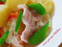 日式馬鈴薯燉肉 簡易。家常菜