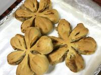 花形芋泥麵包