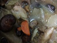 栗子香菇蔬菜雞湯