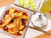 泡菜蔥燒蛋豆腐