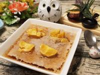 鹹蛋黃蒸青蔥肉餅