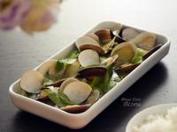 電鍋小廚娘❤蛤蜊絲瓜