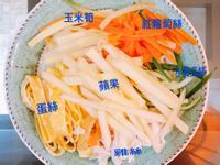 雞絲鮮蔬涼麵