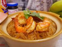 【影片】泰式海蝦粉絲煲【老娘的草根飯堂】