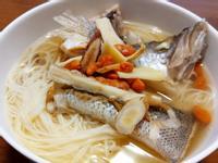 養生補氣鱸魚麵線