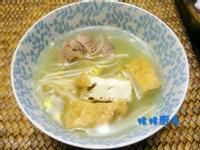 大豆芽豆腐下火湯