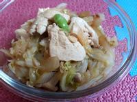 高麗菜炒雞胸肉