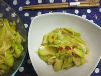夏日小菜同樂會─涼拌醬辛香夏青芒果片