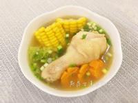 白菜玉米雞湯