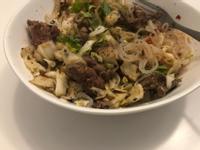 高蛋白 低卡減脂  泰式牛腱肉蒟蒻麵