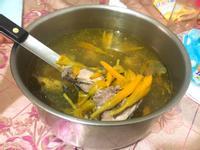 電鍋料理-金針雞湯