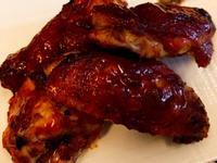 蜂蜜蒜味BBQ烤雞翅