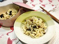 [電鍋料理]雙菇鮮筍炊飯