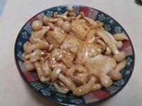 素食~黃金豆腐燴菇菇