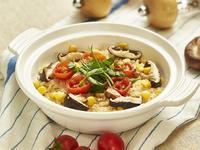 番茄野菇時蔬炊飯
