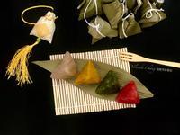 彩色低卡蒟蒻鹼粽(無澱粉無鹼)低醣生酮可