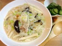 竹筍香菇肉粥