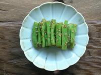 胡麻四季豆(いんげんのごま和え)