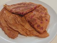 超營養火龍果皮煎餅