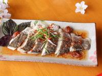 紫蘇蒸鮮魚