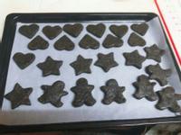 黑糖黑芝麻餅乾