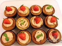 Blossom Cupcakes 春季限定草莓杯子蛋糕譜