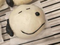眼睛會笑的史努比snoopy造型饅頭