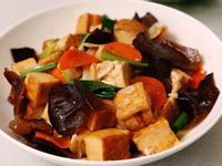 家常蔥燒油豆腐