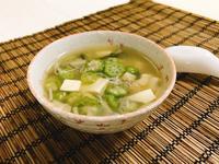 秋葵味噌湯