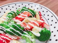 綠樹蟹肉棒沙拉
