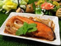 果醋酒燒鮭魚排
