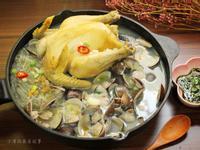 蛤蜊蒜頭雞
