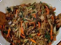 韓國雜菜(韓式伴冬粉)