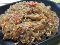 螞蟻上樹  ~  辣味絞肉炒冬粉
